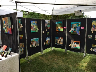 Lansdale 8-26-17 booth setup