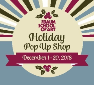 Baum postcard holiday shop